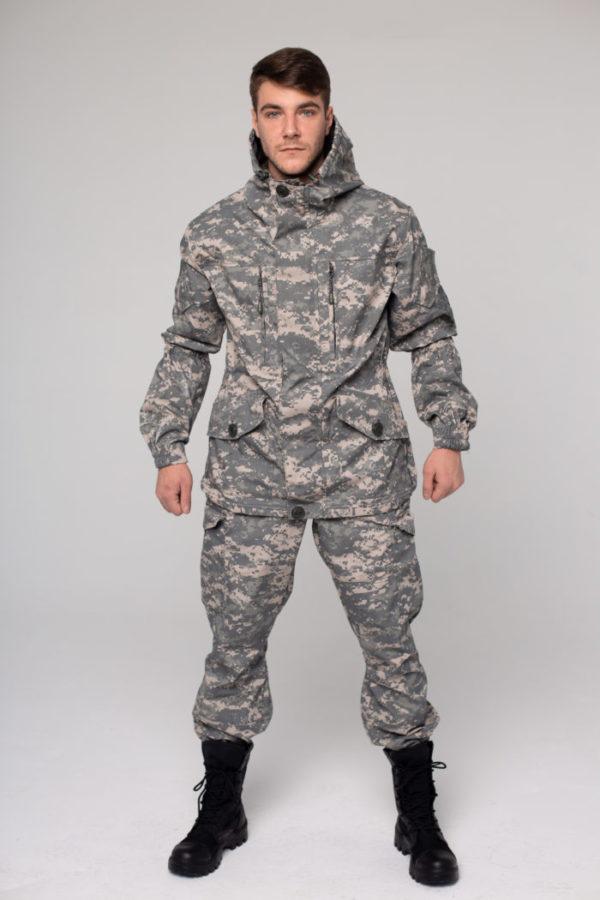 костюм горка 5 серая цифра пилигрим